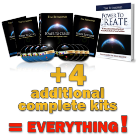 Power to Create + 4 Kits