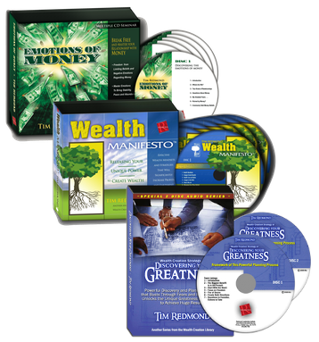 Emotions of Money + Wealth Manifesto + Discovering Your Greatness